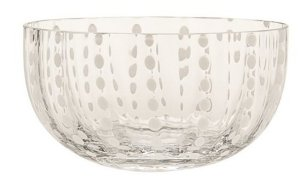 Zafferano Perle Bowl clear - pair