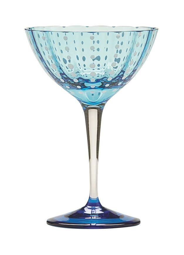 Zafferano Perle Cocktail Aquamarine - pair