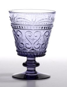 Zafferano Provenzale Wine Goblet  Amethyst - set of 6