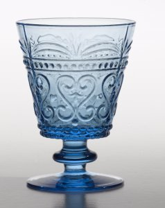 Zafferano Provenzale Wine Goblet  Turquoise - set of 6