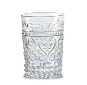 Zafferano Provenzale Tumbler Rock clear - set of 6