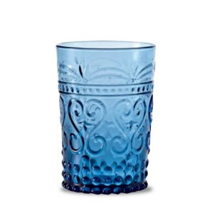 Zafferano Provenzale Tumbler Rock  Aquamarine - set of 6