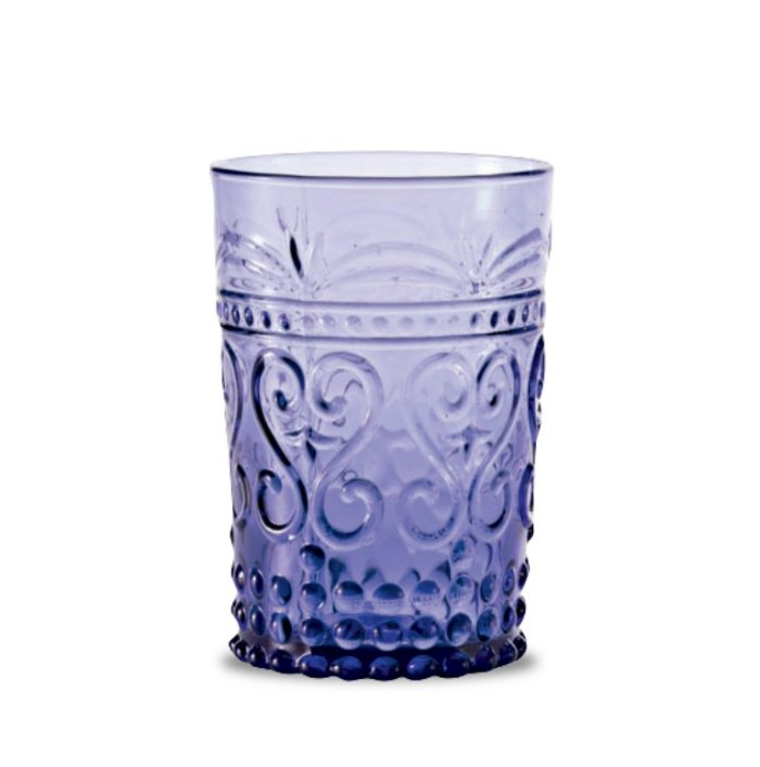 Zafferano Provenzale Tumbler Rock Amethyst - set of 6