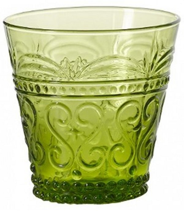 Zafferano Provenzale Tumbler Rock Apple Green - set of 6