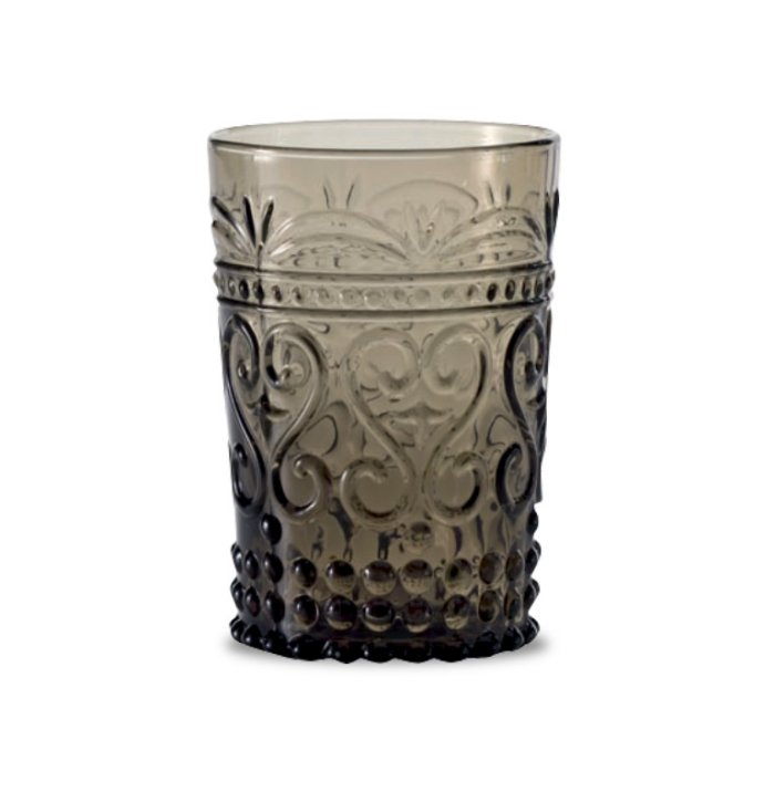 Zafferano Provenzale Tumbler Rock Grey - set of 6