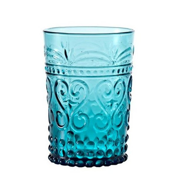 Zafferano Provenzale Tumbler Rock Turquoise - set of 6