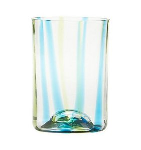 Zafferano Tirache Tumbler  Aquamarine-Green - set of 6