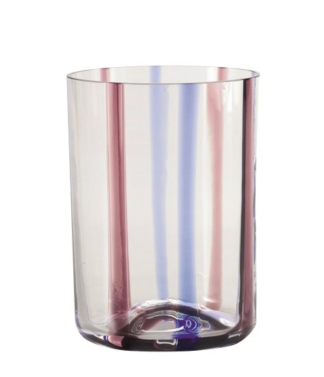 Zafferano Tirache Tumbler Amethyst-Blue - set of 6