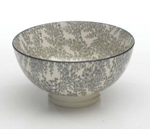 Zafferano Tue Bowl Medium Grey - set of 6