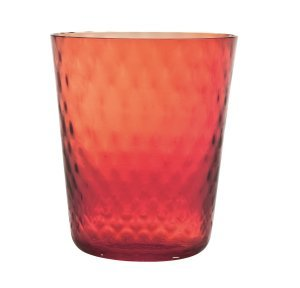 Zafferano Veneziano Tumbler Red - pair