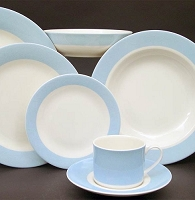 Pickard ColorBurst Blue Ivory Dinner PlatePlate