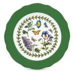 Portmeirion Botanic Garden Accent Plate with Green Border, 6