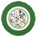 Portmeirion Botanic Garden Charger Plate with Green Border, 13