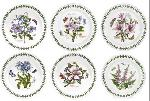 Portmeirion Botanic Garden Dinner Plate, Set of 6