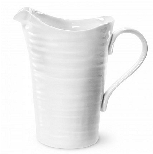 Portmeirion Sophie Conran White Pitcher/Medium Jug