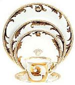 Versace Arabesque Gold 5 Pc Setting