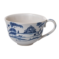Juliska Country Estate Delft Blue Tea/Coffee Cup Garden Follies