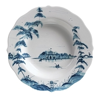 Juliska Country Estate Delft Blue Pasta/Soup Bowl Boathouse