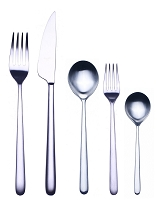 Mepra LINEA ICE 5 Piece Place Setting