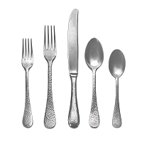 Mepra EPOQUE PEWTER 5 Piece Place Setting