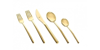 Mepra DUE ORO 5 Piece Place Setting