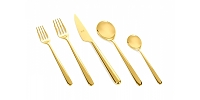 Mepra LINEA ORO 5 Piece Place Setting
