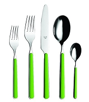 Mepra FANTASIA Apple Green 5 Piece Place Setting