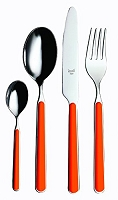 Mepra FANTASIA Carrot 5 Piece Place Setting