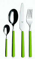 Mepra FANTASIA Green Meadow 5 Piece Place Setting