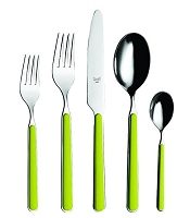 Mepra FANTASIA Olive Green 5 Piece Place Setting