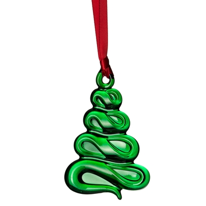 Orrefors Ornaments Christmas Tree Ornament (green)