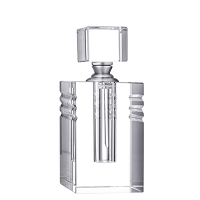 Orrefors Ice Perfume Bottle (tall),5 x 2 in.
