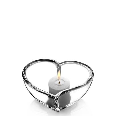 Orrefors Heart Bowl/Votive (small)