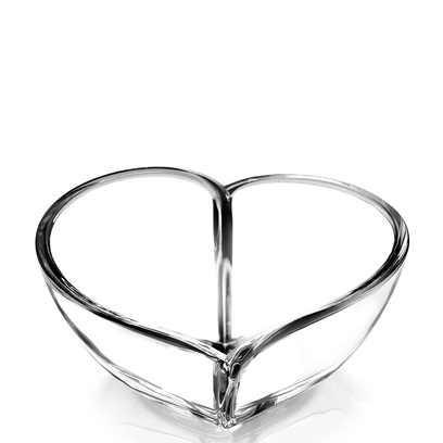 Orrefors Heart Bowl (large)