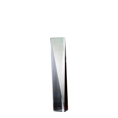 Orrefors City Spire Award (small),8 x 2 1/2 in.