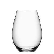 Orrefors More Stemless Wine (set of 4),4 3/5 x 3 1/3 in.13 oz.