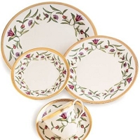 Pickard Dominique Ivory Salad Plate