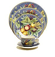 Mottahedeh APPLES BERRIES and CHERRIES Dinnerware