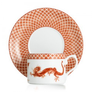 Mottahedeh RED DRAGON Dinnerware