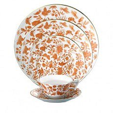 Mottahedeh SACRED BIRD and BUTTERFLY Dinnerware