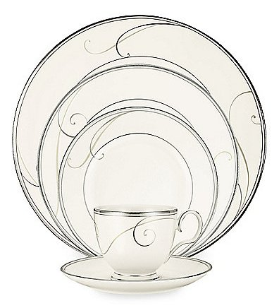 Noritake Platinum Wave Dinnerware