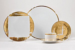 Bernardaud GOLD LEAF Dinnerware