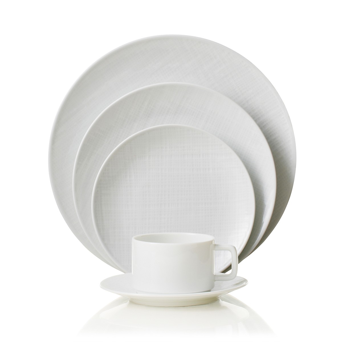 Bernardaud Organza 5 Pc Setting