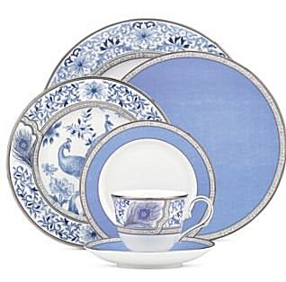 Noritake Sonnet In Blue Dinnerware