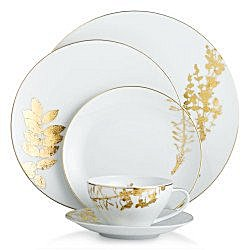 Bernardaud VEGETAL GOLD Dinnerware