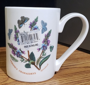 Portmeirion Botanic Garden Coffee Mug Speedwell 10 oz