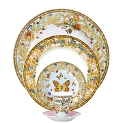 Versace by Rosenthal Butterfly Garden 5 Piece setting