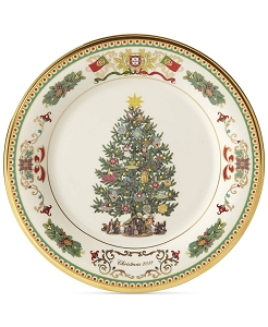 Lenox 2018 Annual Trees Around The World Collectors Plate
