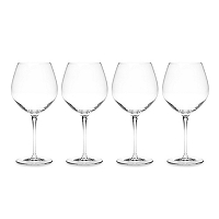 Luigi Bormioli Crescendo 22 0z Bourgogne Wine Set of Four