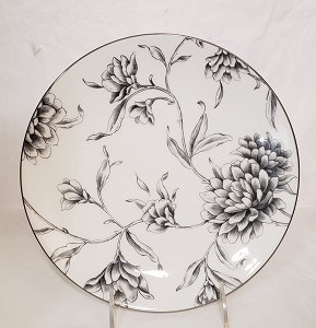 Marchesa By Lenox Floral Illustrations 9 Inch Accent Plate